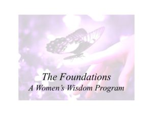 A women's wisdom program